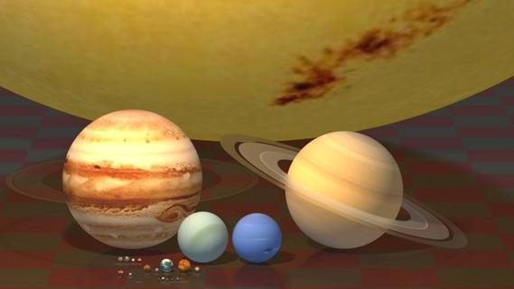 solar system models comparisons - photo #3